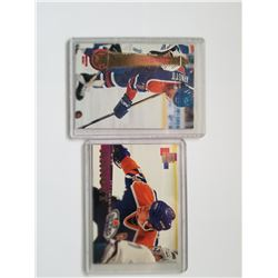 Lot of 2 1994 Jason Arnott Edmonton Oilers Hockey Cards