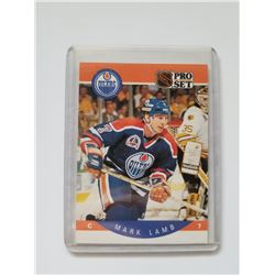 Pro Set 1990 #88 Mark Lamb Edmonton Oilers