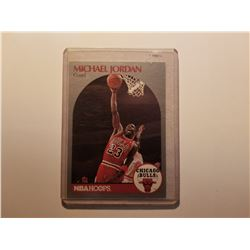 Michael Jordan NBA Hoops 1990 Card #65