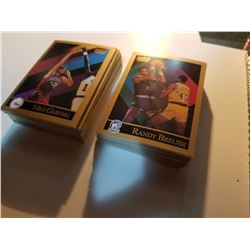 Lot of 100 1990 SkyBox Basketball Cards