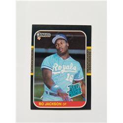 Bo Jackson 1987 Donruss Rated Rookie Card