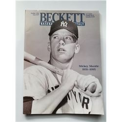 Beckett Baseball Monthly Oct 1995 Mickey Mantle Issue