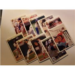 Lot of 1990 and 1991 Upper Deck Baseball Cards
