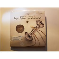 2013 Birth of the Royal Infant Canada Commemorative 25 Cent