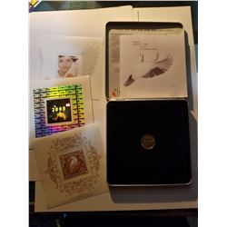 2000 Canada Post Official Millenium Keepsake Coin and Stamp Set