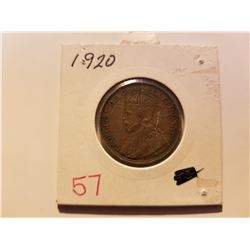 1920 Canada Large Cent