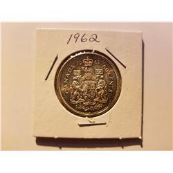 1962 Canada Silver 50 Cent Coin