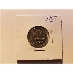 1751-1951 Canada Commemorative 5 Cent Coin