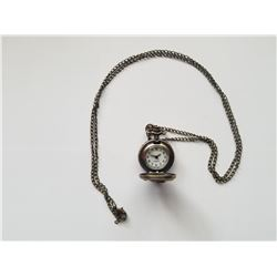 Small Cupid Quartz Pocket Watch on Chain