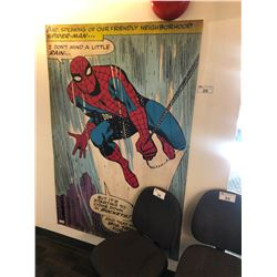 LARGE SPIDER-MAN PRINT