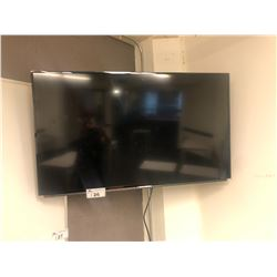 SHARP FLATSCREEN TV WITH FULL MOTION WALL MOUNT