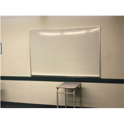 3 WHITE BOARDS, CORKBOARDS AND ASSORTED CONTENTS OF ROOM