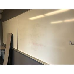 2 WHITE BOARDS, CORKBOARDS AND ASSORTED CONTENTS OF ROOM