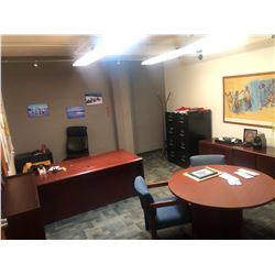 CONTENTS OF OFFICE 316 INC. OFFICE FURNITURE, CHAIRS, FILE CABINETS ETC., PERSONAL ITEMS AND