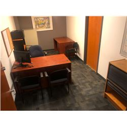CONTENTS OF OFFICE 317 INC. OFFICE FURNITURE, CHAIRS, FILE CABINETS ETC., PERSONAL ITEMS AND