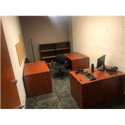 CONTENTS OF OFFICE 318 INC. OFFICE FURNITURE, CHAIRS, FILE CABINETS ETC., PERSONAL ITEMS AND