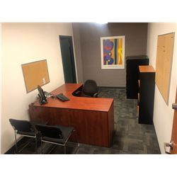 CONTENTS OF OFFICE 319 INC. OFFICE FURNITURE, CHAIRS, FILE CABINETS ETC., PERSONAL ITEMS AND
