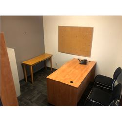 CONTENTS OF OFFICE 320 INC. OFFICE FURNITURE, CHAIRS, FILE CABINETS ETC., PERSONAL ITEMS AND