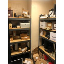 CONTENTS OF SUPPLY/OFFICE ROOM 322 INC. TOOLS, SHELVING, PARTS AND MORE