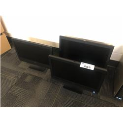 3 DELL ALL-IN-ONE COMPUTER, HARD DRIVES REMOVED