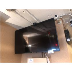 SONY FLATSCREEN TV WITH FULL MOTION MOUNT