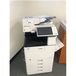 CANON IMAGERUNNER ADVANCE 4551I DIGITAL MULTIFUNCTION COPIER, 4 PAPER TRAYS, HARD DRIVE REMOVED