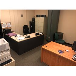 CONTENTS OF ROOM 112 INC. FILE CABINETS, PRINTERS, CHAIRS, DESKS AND MORE, FILES/SAFES/PERSONAL