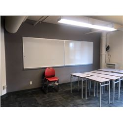 WHITE BOARDS AND ASSORTED OTHER ITEMS IN ROOM INC. DECOR ETC.