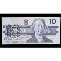 Bank of Canada 1989 10.00 (BEH) Choice UNC  BC57c