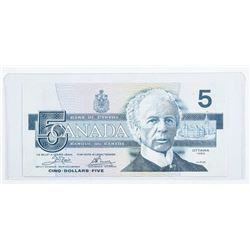 Bank of Canada 1986 5.00 Choice UNC BC56a  (ENA)