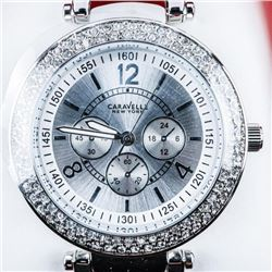 Ladies Caravelle NEW YORK Fancy Watch with  Swarovski Elements