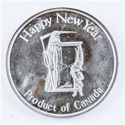 .999 Fine Silver Holiday Medal 1 Troy oz