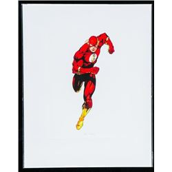 "DC Comics ""The Flash"" 8x10"" Giclee Matted"
