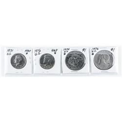 Group (4) US Coins: 1971-1976