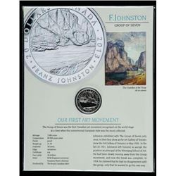 RCM 'Franz Johnston' .9999 Fine Silver $20.00  Coin with Display LE/C.O.A. LE/7000  'Guardian of the