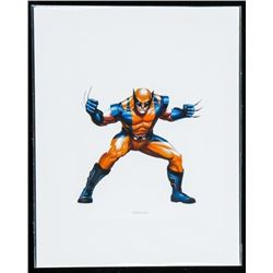 """Marvel """"Wolverine"""" 8x10"""" Giclee Matted."""