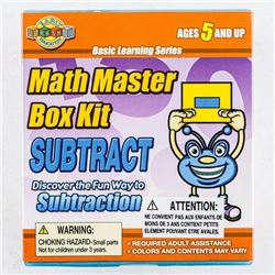 Math Master Box Kit - Subtraction