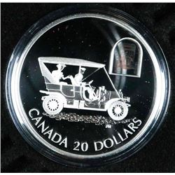 RCM 925 Sterling Silver Proof 20.00 Coin, Car