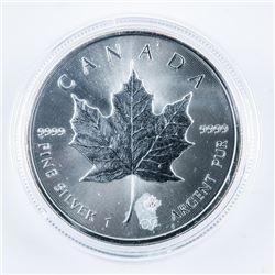 RCM .999 Fine Silver Maple Leaf Coin 5.00 -  1oz 2017