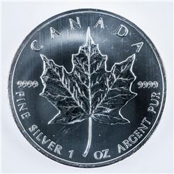 RCM .999 Fine Silver Maple Leaf Coin 5.00 -  1oz 2013