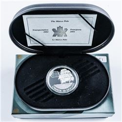 RCM MARCO POLO 925 Sterling Silver Proof  $20.00 Coin