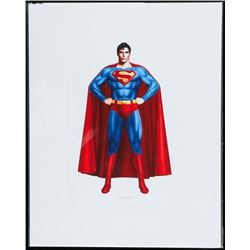 SUPERMAN 8x10 Giclee Matted