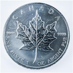 RCM .9999 Fine Silver Maple Leaf 5.00 Coin  1oz '2011'