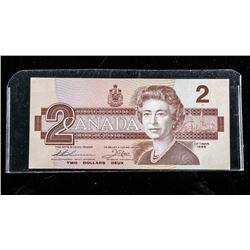Bank of Canada 1986 2.00 Choice UNC (AUK)