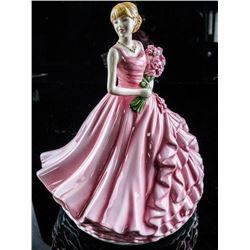 Royal Doulton Figurine 'RED ROSE' Original  Box