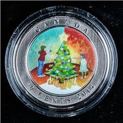 RCM 50 Cents Christmas Tree Cupronickel