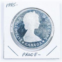 1985 Proof Canada Silver Dollar