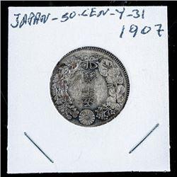 Japan 30 SEN - Y31 - 1907 (AR)