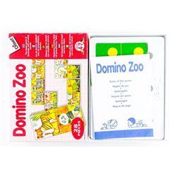 Domino Zoo Game Vintage