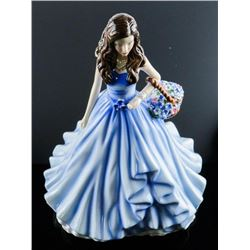 Royal Doulton TRUE LOVE - Forget Me Not